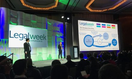 Legalweek: The Experience