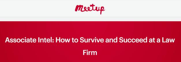 """Announcing:  """"Associate Intel"""" Meetup"""