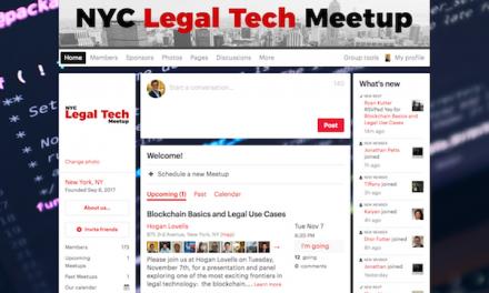 #NYCLTM:  Blockchain Basics and Legal Use Cases  (Nov. 7)